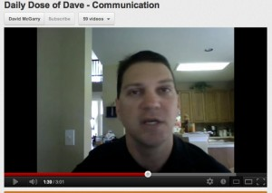 Daily Dose of Dave - Communication
