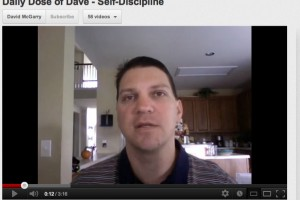 Daily Dose of Dave – Self-Disciplined