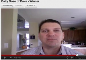 Daily Dose of Dave - Winner