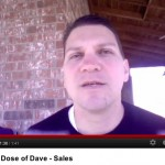 Daily Dose of Dave – Sales