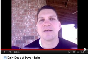 Daily Dose of Dave -Sales